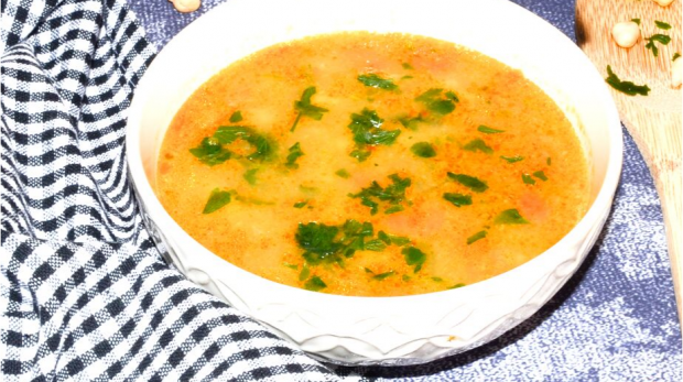 Cícerová polievka so zemiakmi