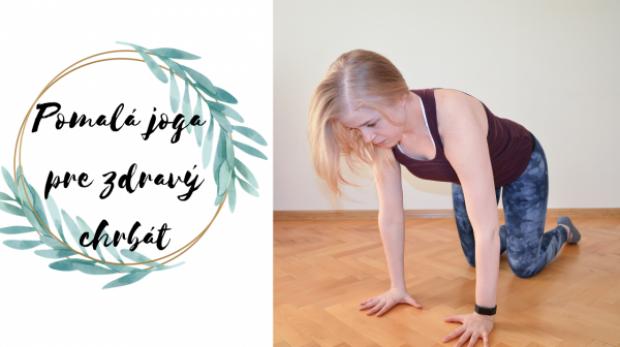 pomalá joga pre zdravý chrbát
