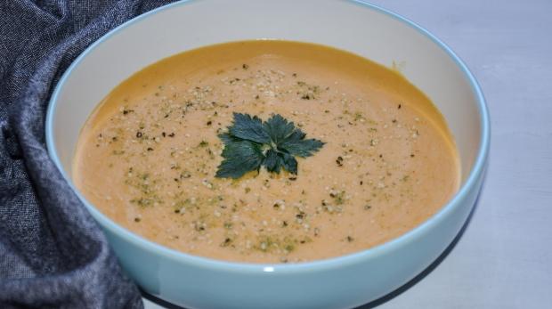 Krémová polievka z červenej šošovice