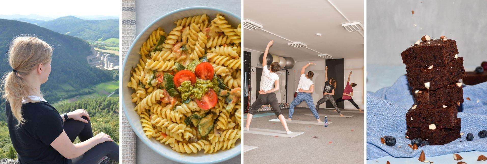 Zdravé recepty, power joga, motivácia